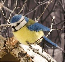Kösener 5680 - Blaumeise Vogel 14 cm Kuscheltier Stofftier Plüschtier