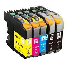 5pk LC-203XL LC203XL Ink Combo For Brother LC201 MFC-J460dw MFC-J480dw MFCJ485dw