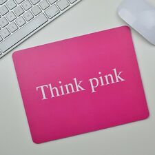 Think pink Mousepad Mauspad tapis de souris Apple Windows OS X