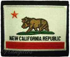 Fallout Game, New Vegas NCR Flag Embroidered Iron Or Sew On 2.5'' Patch