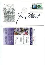 JIMMY STEWART HAND SIGNED KEEP AMERICA BEAUTIFUL FIRST DAY COVER   AWESOME   JSA