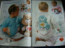 Phildar Knitting Book #144 Baby Issue FRENCH Care Bears