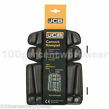 JCB Cannock KNEE PADS for Work Trousers Pants Bib & Brace Overalls Boiler Suits