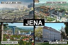 SOUVENIR FRIDGE MAGNET of JENA GERMANY