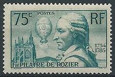 1936 FRANCIA PILATRE DE ROZIER MNH ** - EDF021