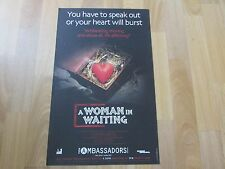 A WOMAN in WAITING Based Life Thembi MTSHALI Original AMBASSADORS Theatre Poster