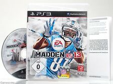 NFL Madden 13/2013-dt. version - ~ playstation 3 jeu ~
