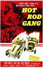 HOT ROD GANG MOVIE. DVD.GENE VINCENT.ROCK N ROLL