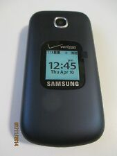 Verizon Flip CDMA 3G phone Samsung Gusto 3 clean ESN - BRAND NEW