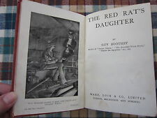 The Red Rat's Daughter by Guy Boothby HB