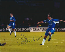 Gianfranco ZOLA SIGNED COA Autograph 10x8 Photo AFTAL Genuine CHELSEA Football