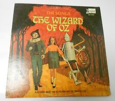 1969 The Songs From The Wizard Of Oz LP Disneyland ‎DQ 1328 VG+/VG