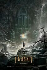 Hobbit The Desolation of_Smaug Advance A Original Movie Poster Dbl Sided 27x40