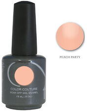 Entity 1 One Color Couture Soak Off Gel Polish  ~ PEACH PARTY  ~ .5oz