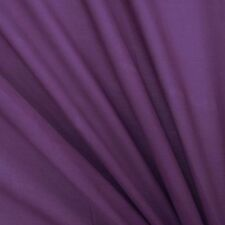 """55"""" WdPurple Cotton Silk Sew Fabric Crafting Material By 1 Metre FCS"""