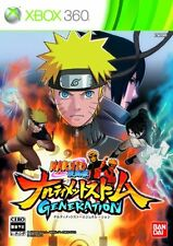 USED Naruto Shippuden: Narutimate Storm Generation Japan Import Xbox 360