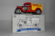SPEC CAST LIBERTY CLASSICS FORD MODEL A TANKER TRUCK, SHELL OIL, 1:25 SCALE