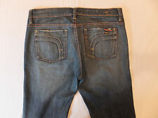 Fidelity Bella Donna Mid Rise Bootcut Size 30 x 31 1/2 Stretch Women's Jeans