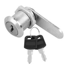 20mm Cam Lock + 2 Keys for Door Cabinet Mailbox Post Box Drawer Cupboard Locker