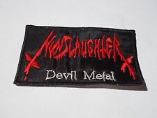 NUNSLAUGHTER DEVIL METAL EMBROIDERED PATCH