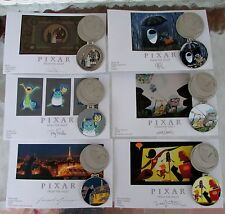 Disney Pixar Party 2016 Pin Event From the Vault 6 Pin Print Set LE 750