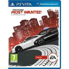 Need for speed most wanted jeu pour Sony PS Vita conduite/jeu de course nouveau uk