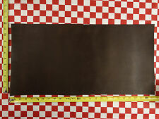 "AUTHENTIC HORWEEN CHROMEXCEL DARK BROWN LEATHER 24""x12"" FIRST QUALITY 8 Oz."