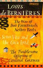 Louis de Bernieres Box Set of 3 books: The War..., Bernieres, Louis de Paperback