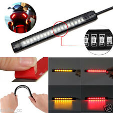 Universal Flexible 18 LED Motorcycle ATV Tail Brake Stop Turn Signal Strip Light