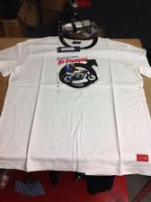 Triumph Ladies 'go With The Leader' White T-shirt XXL NEW