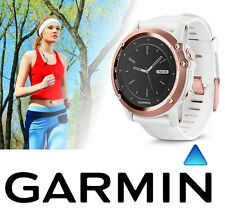 Garmin Fenix 3 Sapphire Stylish Women GPS Fitness Sport Watch White/Rose Gold