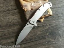 58HRC Portable Outdoor Survival Tactical Folding Knives Camping Hunting Blade