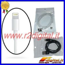 CAVO DATI PER IPHONE 5 IPAD MINI USB CARICA SINCRONIZZA TELEFONO CARICATORE USB