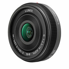 Panasonic Lumix G 14mm F/2.5 ASPH H-HO14E Lens - Silver - Bulk Package