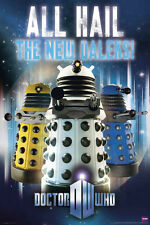 DOCTOR WHO: All Hail The New DALEKS - Large 24x36 BBC TV Show Poster (5377)