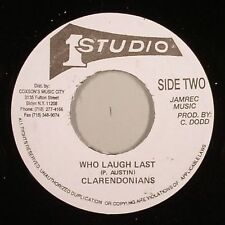 THE CLARENDONIANS - WHO LAUGH LAST aka 'HE WHO LAUGHS' (STUDIO 1) 1967