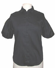 FREE UK P&P Ladies navy blue smart work blouse by JIGSAW EXCELLENT COND. UK 8