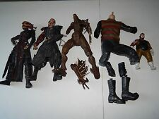 TORTURED SOULS MCFARLANE FREDDY KRUEGER BROKEN FIGURE CUSTOM JOB LOT