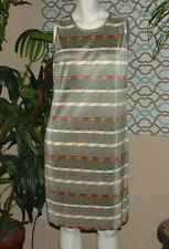 NOTATIONS Clothing Co. Women's Sleeveless Dress Size M Multi-Color Summer Wear!