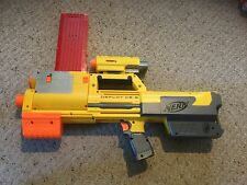 Pre Owned Nerf Deploy CS-6  Gun With extra piece to hold darts.  See Pictures.