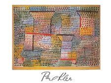 Paul Trifoglio croci e pilastri poster stampa d'arte immagine 80x60cm-SPEDIZIONE GRATUITA