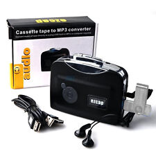 Cassette-to-MP3 Converter Tape to USB Flash Drive Audio Capture Player Walkman