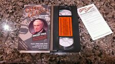 CREEPY CLASSICS VHS TAPE! ORION 1970 WITH...THE SPINE CHILLING VINCENT PRICE!