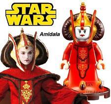 1pc Queen Padme Amidala Minifigure Blocks Toy Star Wars Custom Lego #635