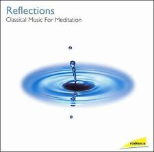 FREE US SHIP. on ANY 2 CDs! ~LikeNew CD : Reflections: Classical Music for Medit