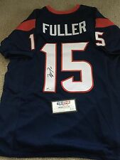 Will Fuller Houston Texans Signed Autographed Blue Jersey Tristar