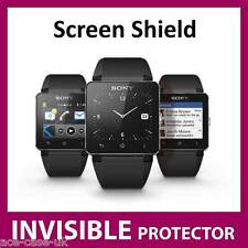 Sony Smart Watch 2 SW2 INVISIBLE FRONT Screen Protector Shield