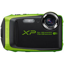 "Fujifilm FinePix XP90 16 MP Waterproof Digital Camera w/ 3"" LCD - Green"