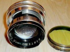 1960! MACRO JUPITER-3 1,5/50mm Russian Rangefinder Lens screw M39
