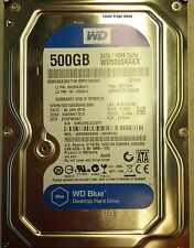Western Digital 500GB Hard Drive 3.5  WD5000AAKX-08U6AA0